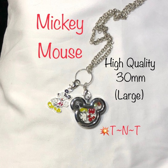 Jewelry - Mickey Themed HQ Living Locket
